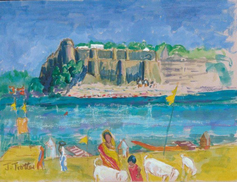 Ahilya Fort from Naodatodi, India