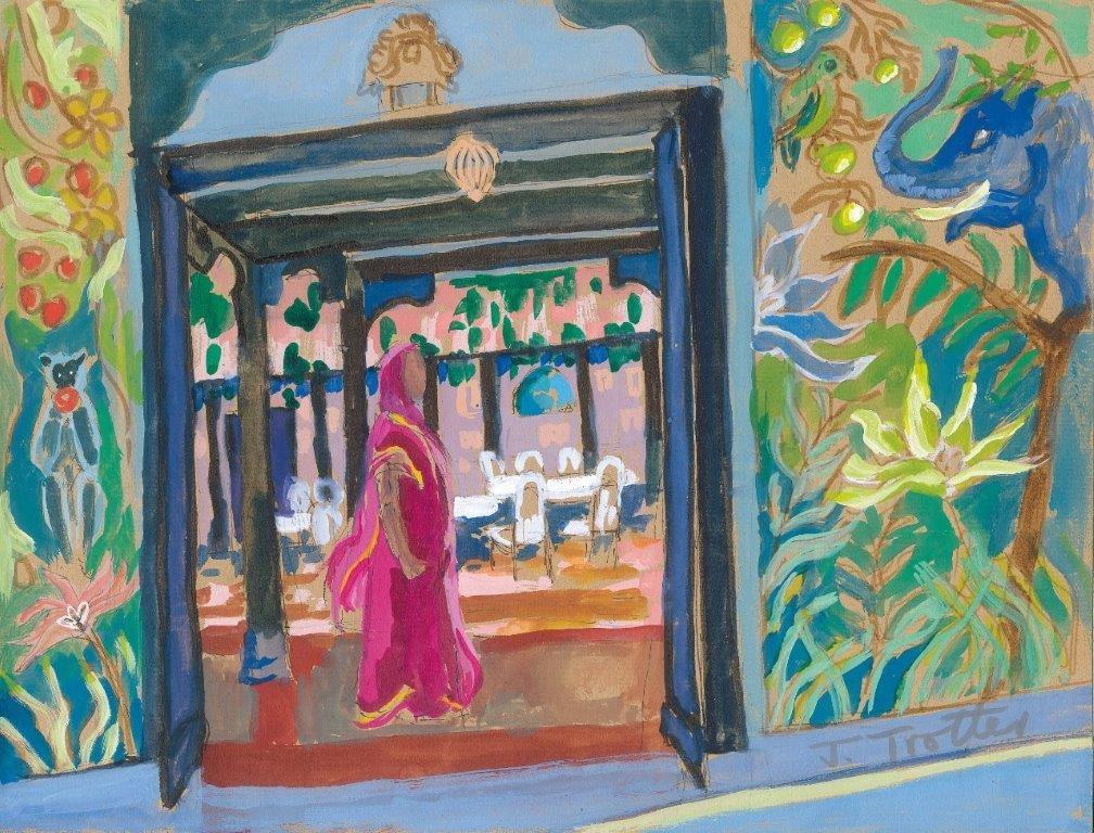 Josephine Trotter Rujubai at Ahilya Fort