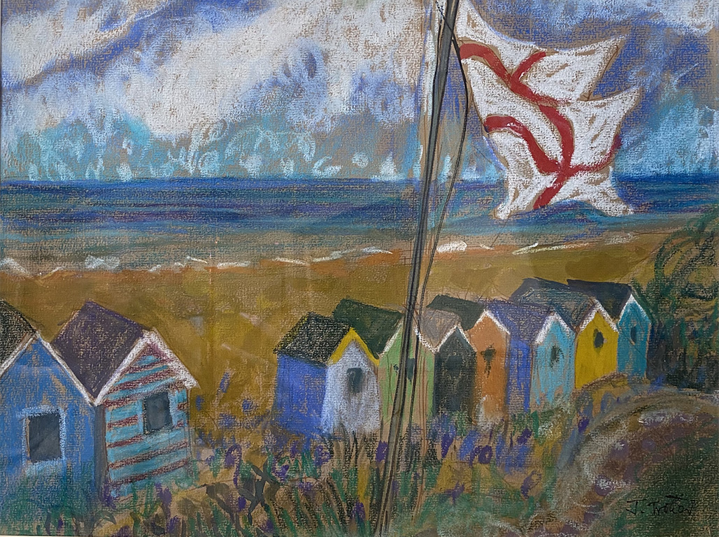 23: Southwold with flag, Suffolk